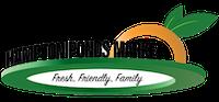 A theme logo of Hampton Ponds Market